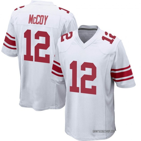 Colt McCoy New York Giants No.12 Game Jersey - White