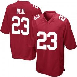 Sam Beal New York Giants No.23 Game Alternate Jersey - Red